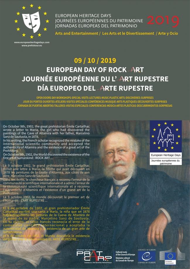 9 de outubro: Dia Europeu da Arte Rupestre Pré-Histórica