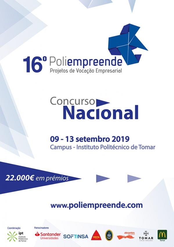 Concurso Poliempreende Nacional no IPT, de 9 a 13 de setembro no IPT